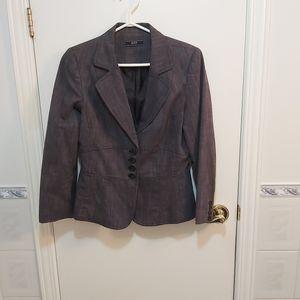 🤯BUY1,GET1FREE SUZY SHIER grey blazer